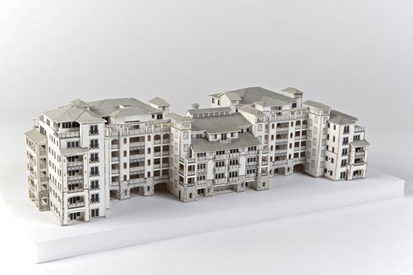 MR003_white_spanish_style_study_model
